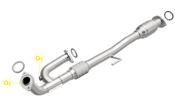 Toyota Camry | 3.0L | Y Pipe Assembly | Direct-Fit California Catalytic Converter OBDII
