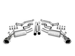 Borla 140356 | Cat-Back Exhaust | 2010-2013 Camaro SS 6.2L | ATAK Series