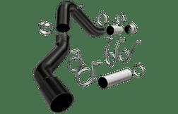 "Magnaflow 17064 | Chevrolet/GMC, Silverado/Sierra, 2500/3500 HD | 6.6 Diesel | 5"" DPF-Back | Black Series |  Performance Exhaust System"