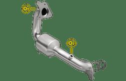 Magnaflow 52439 | Nissan Juke | 1.6L | AWD | Front | Direct-Fit OEM Grade Catalytic Converter Federal (Exc.CA)