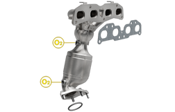Magnaflow 5481295 | Nissan Rogue/Rogue Select | 2.5L | Exhaust Manifold | Direct-Fit California Legal Catalytic Converter | EO# D-193-146