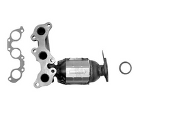 2004-2006 | Lexus/Toyota | ES330/Camry/Solara | 3.3L | BANK 1 | Rear Manifold With Integrated Catalytic Converter | California Legal | EO# D-280-102