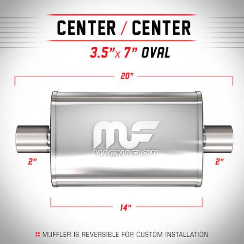 Magnaflow 11114_Satin Stainless Muffler