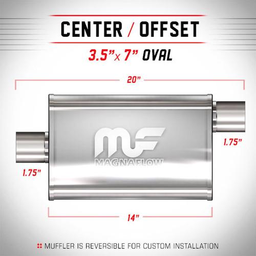 Magnaflow 11123_Satin Stainless Muffler