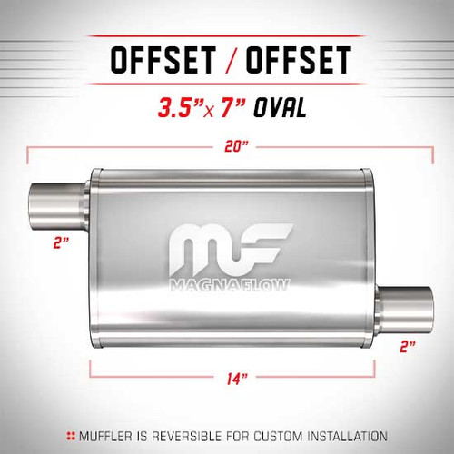 Magnaflow 11134_Satin Stainless Muffler