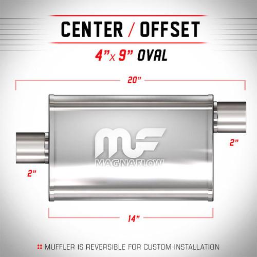 Magnaflow 11224_Satin Stainless Muffler