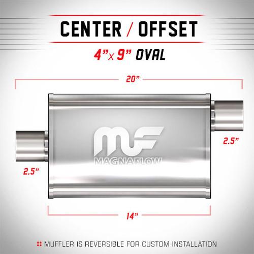 Magnaflow 11226_Satin Stainless Muffler