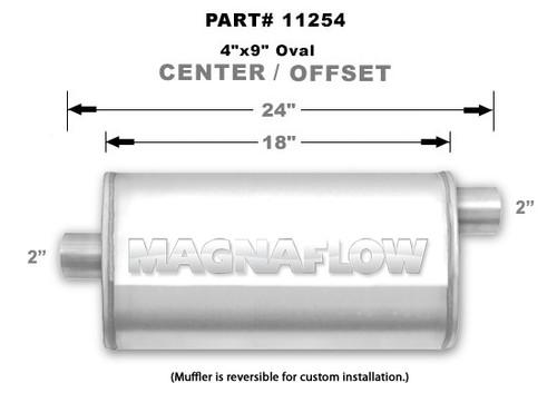 Magnaflow 11254_Satin Stainless Muffler