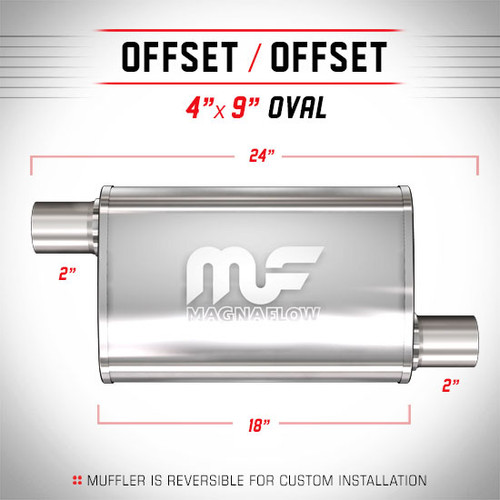 Magnaflow 11264_Satin Stainless Muffler