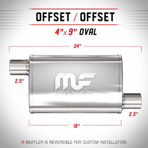 Magnaflow 11266_Satin Stainless Muffler