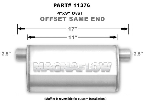 Magnaflow 11376_Satin Stainless Muffler