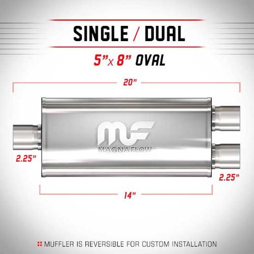Magnaflow 12138_Satin Stainless Muffler