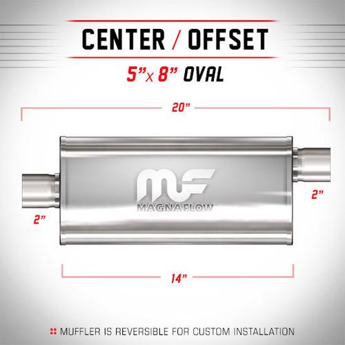 Magnaflow 12224_Satin Stainless Muffler