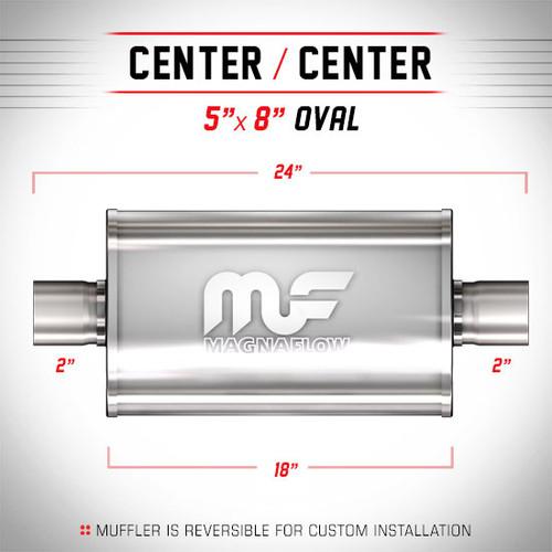 Magnaflow 12244_Satin Stainless Muffler
