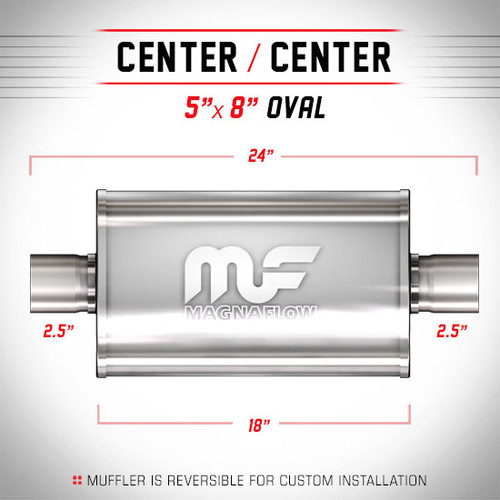 Magnaflow 12246_Satin Stainless Muffler