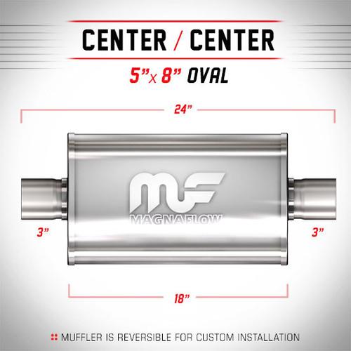 Magnaflow 12249_Satin Stainless Muffler