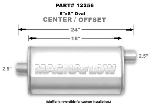 Magnaflow 12256_Satin Stainless Muffler