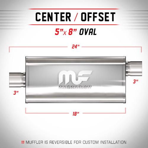 Magnaflow 12259_Satin Stainless Muffler
