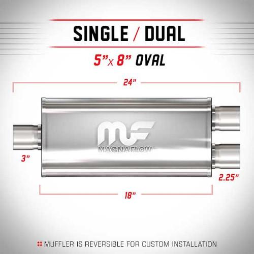 Magnaflow 12278_Satin Stainless Muffler