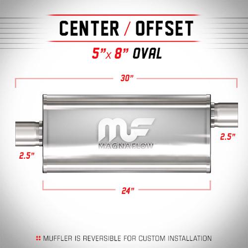 Magnaflow 12286_Satin Stainless Muffler