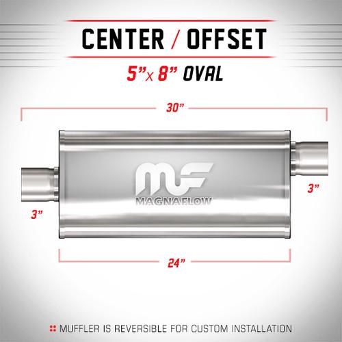 Magnaflow 12289_Satin Stainless Muffler
