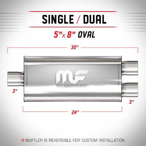 Magnaflow 12398_Satin Stainless Muffler