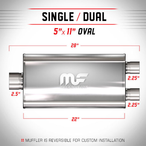 Magnaflow 12580_Satin Stainless Muffler