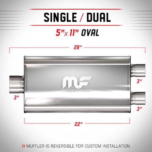 Magnaflow 12590_Satin Stainless Muffler