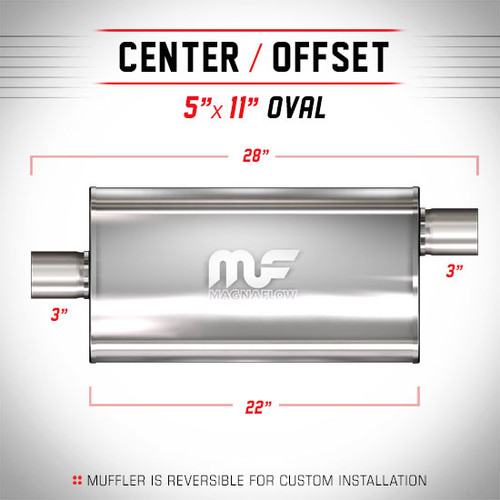 Magnaflow 14589_Polished Stainless Muffler