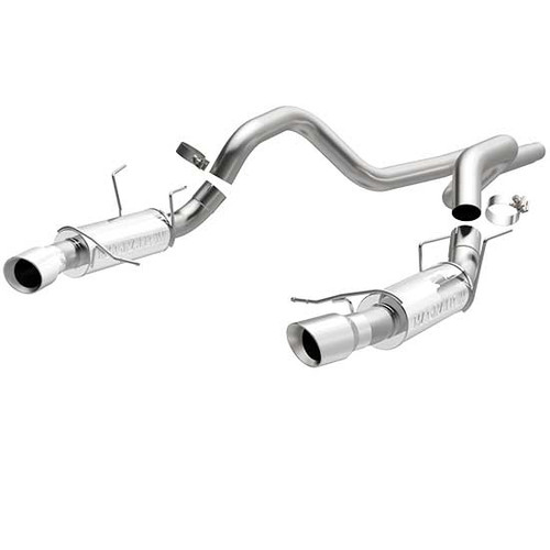 Magnaflow 15590_Ford Mustang GT, Shelby Competition Series Cat Back Performance Exhaust System