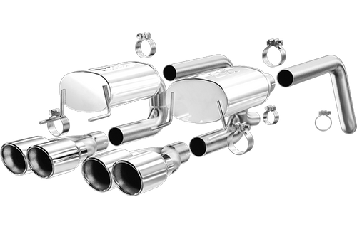 C6 Exhaust|Magnaflow 15886_Chevrolet Performance Exhaust System