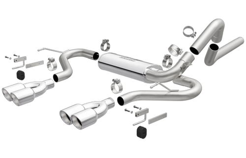 Magnaflow 16846 | Chevrolet Camaro Z28/SS | Pontiac Firebird Trans Am |  Quad Center Exit |  Stainless Cat-Back Performance Exhaust System