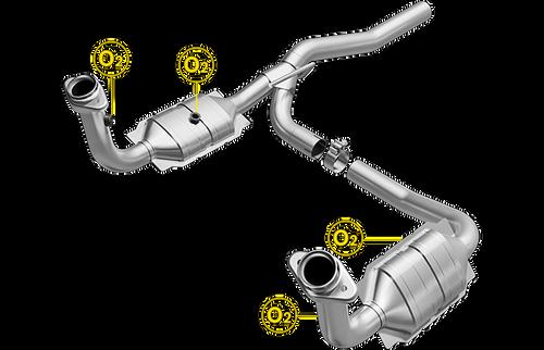 Magnaflow 49187   DODGE NITRO, JEEP LIBERTY   3.7L   Catalytic Converter-Direct Fit   OEM Grade EPA