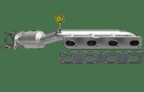 Magnaflow 50380 | INFINITI QX56, NISSAN TITAN/ARMADA/PATHFINDER | 5.6L | Driver Side | Catalytic Converter-Direct Fit | Standard Grade EPA