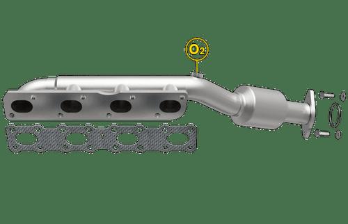 Magnaflow 50381 | INFINITI QX56, NISSAN TITAN/ARMADA/PATHFINDER | 5.6L | Passenger Side | Catalytic Converter-Direct Fit | Standard Grade EPA