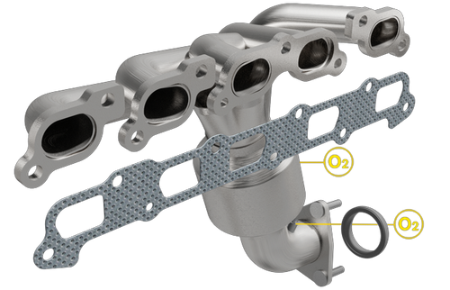 Magnaflow 50664 | CHEVROLET COLORADO, GMC CANYON, HUMMER H3, ISUZU I-350 | 3.5L | Catalytic Converter-Direct Fit | Standard Grade EPA