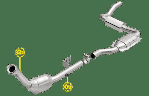 Magnaflow 23209 | MERCEDES-BENZ ML320 | 3.2L | Driver Side | Catalytic Converter-Direct Fit | Standard Grade EPA