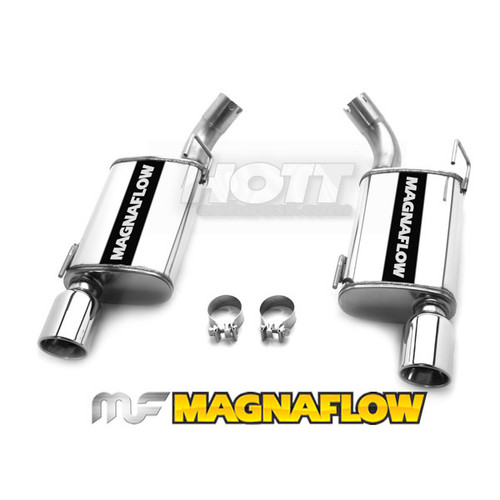 Mustang Axle-Back, Magnaflow 15151_Ford Performance Exhaust System