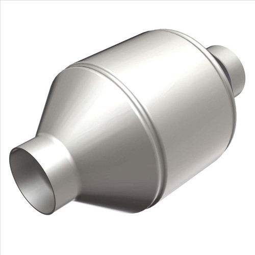 """Magnaflow 51654   5"""" Spun Body   2"""" in/out   8.751"""" Length   OEM Grade Universal Fit - EPA  states only"""