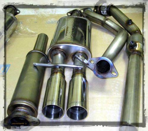 VW Turbo Back 3 inch Downpipe/ 2.5 inch Cat Back MKIV JETTA