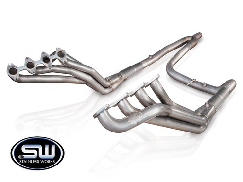 Ford F150 | 5.4 L | 2004-2008 Stainless Headers by Stainless Works- Single Y Exit