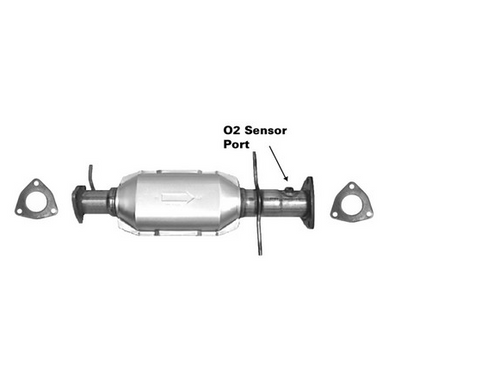 1996-1998 | CHEVROLET S10, GMC SONOMA | 4.3L | 4WD | Catalytic Converter-Direct Fit | California Legal | EO# D-280-101