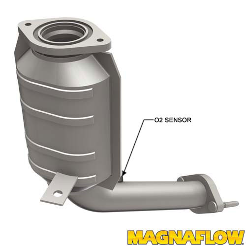 Magnaflow 541042_Ford Freestyle Five Hundred, Mercury Montego Direct Fit Front Right CALIFORNIA Approved Catalytic Converter