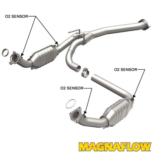 Magnaflow 455031 Chevrolet/GMC Direct Fit California OBDII Catalytic Converter