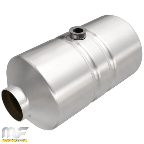 Magnaflow 455334 | 2in. | Round Body | Mid-Bed o2 port | Universal California OBDII Catalytic Converter