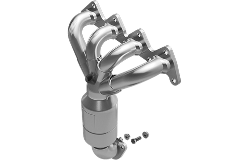 agnaflow 452035 Hyundai Exhaust Manifold With Integrated California Catalytic Converter