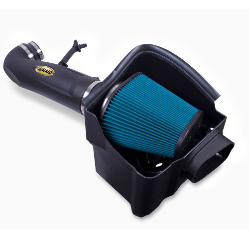 AIRAID 523-284 Nissan Titan ( 2004-2015) 5.6L Cold Air Intake Kit-Dry Blue Filter