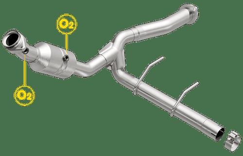 Magnaflow 52139 | Ford F-150 | 5.0L | Passenger Side | Catalytic Converter Direct Fit OEM Grade OBDII (Exc.CA)