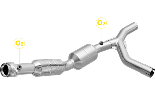 Magnaflow 558310 | FORD E-150/E-250 | 4.6L | Passenger Side | Catalytic Converter-Direct Fit | California Legal | EO# D-193-128