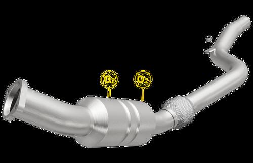 Magnaflow 546241 | CHRYSLER 300, DODGE CHARGER/MAGNUM | 2.7L/3.5L | Passenger Side | Catalytic Converter-Direct Fit | California Legal | EO# D-193-125